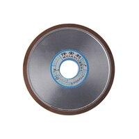 Diamond Grinding Wheels 100*10*20*4mm Flat-Shaped 150/180/240/320 Grits Grinding Disc Diamond Wheel Abrasive Tools 1pc
