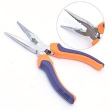 Стальных плоскогубцев с 3 отверстиями для наращивания волос/микро-петля инструмент плоскогубцы/для волос бусины, нано кольца