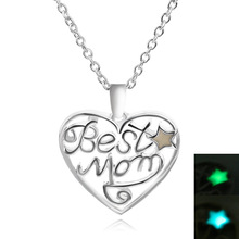 Silver Plated Necklace. Heart Pendant. Mothers Day gift