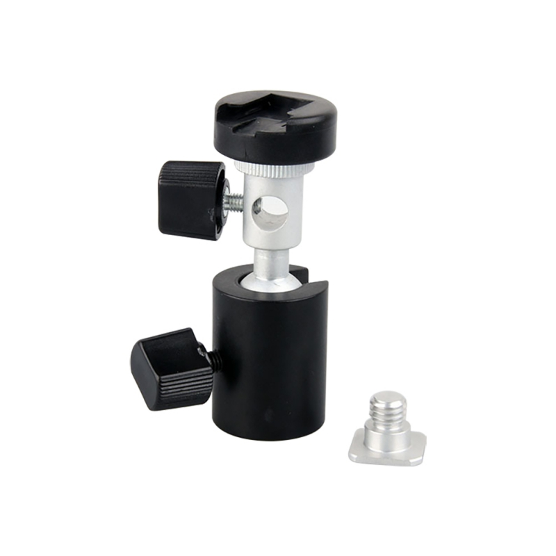Universal 360 Degree Camera Flash Hot Shoe Adapter Umbrella Holder Swivel Light Stand Bracket Type C Photography Acc