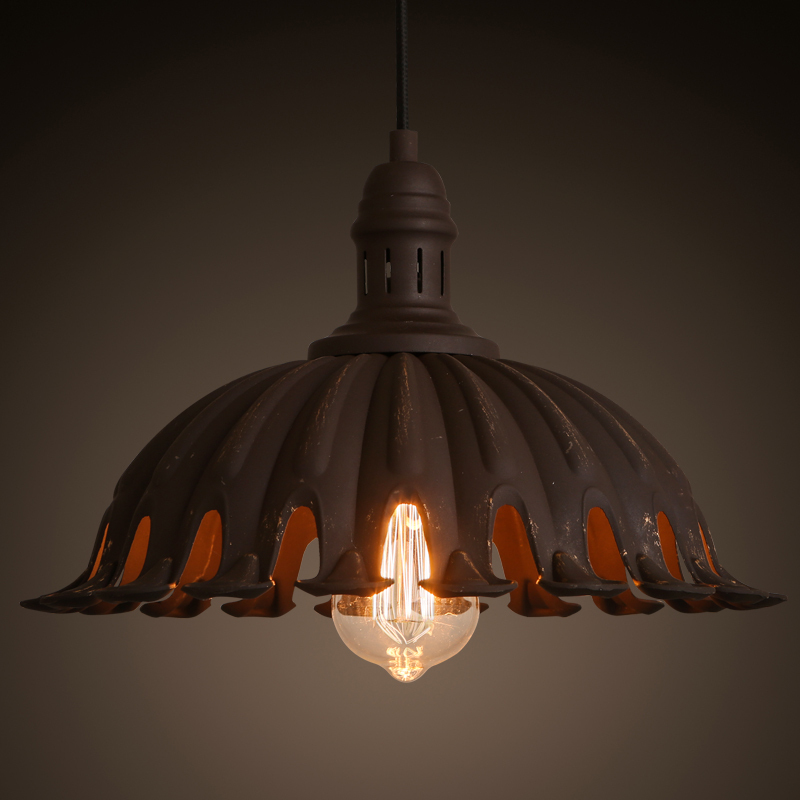 Online Get Cheap Old Chandeliers -Aliexpress.com | Alibaba Group:American loft industrial retro rust colored old chandelier creative  personality restaurant Coffee store iron lamp(,Lighting