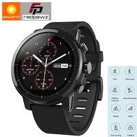 Huami Amazfit смарт спортивные часы 2 здоровья трекер gps 5ATM Водонепроницаемый 1,34 ''2.5D сенсорный gps компании Firstbeat английская версия