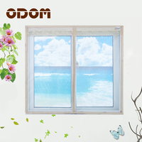 ODOM Mosquito Net Magnetic Curtains Magic Mesh Mosquito Door Screen Window Net Insect Aluminum Chain Curtain