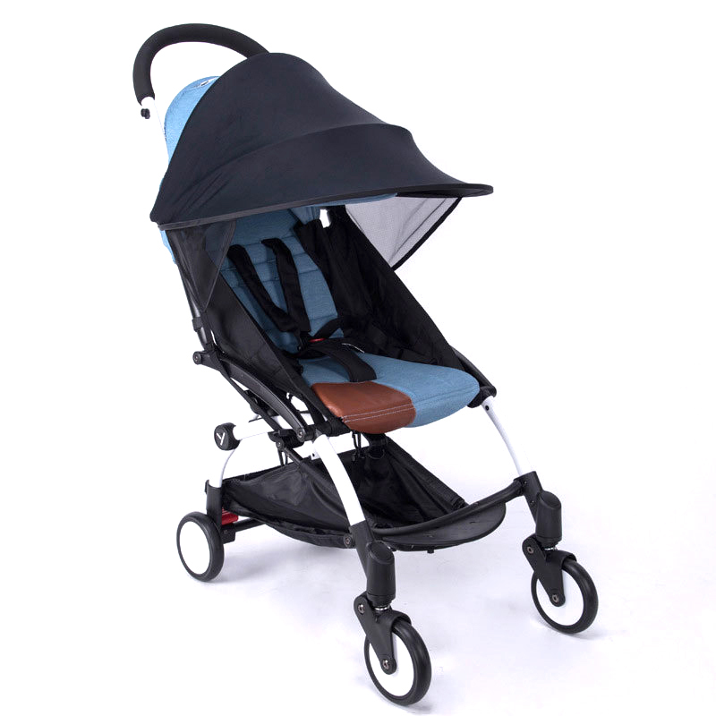 f47ffec13 Aliexpress.com : Buy Baby Stroller Sun Shade Canopy Cover Infant Kids  Carriage Sun Visor for yoya Car Seat Buggy Pram Accessories Cap from  Reliable ...
