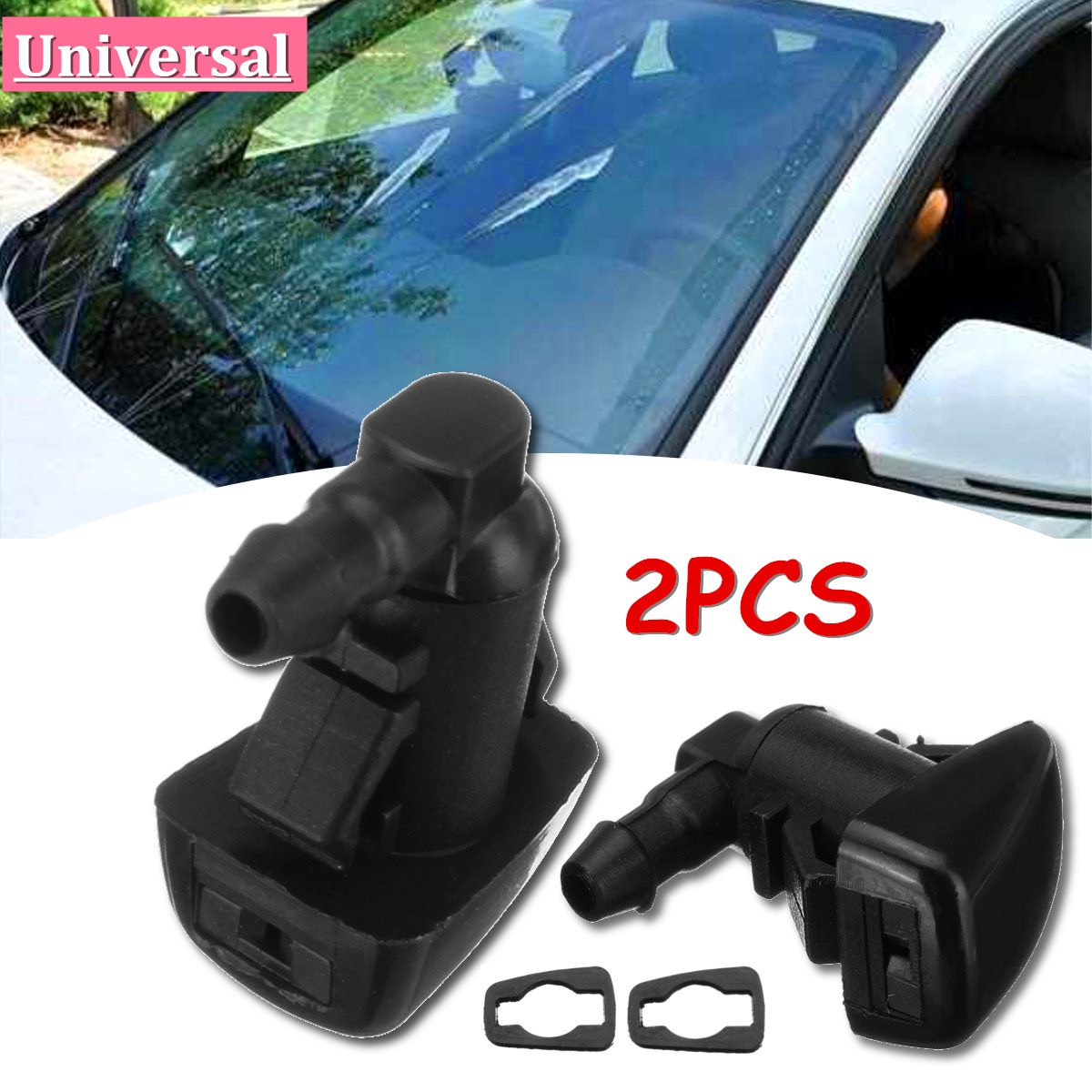 Pc Windshield Wiper Water Spray Jet Nozzle For Ford Edge Tz  A Christmas Gift Ideas