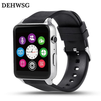 Bluetooth Smart Watch D88 MTK2502 Heart Rate Monitor Smartwatch Support SIM TF Card Prefect For Apple