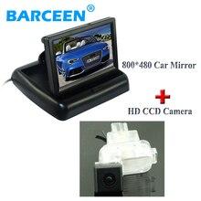 Датчик изображения ccd hd автомобильная камера заднего вида ночного видения + 4.3 «автомобиль обращая монитор жк-экран, пригодный для Mazda 6 (2014 ~ 2015)/ATENZA