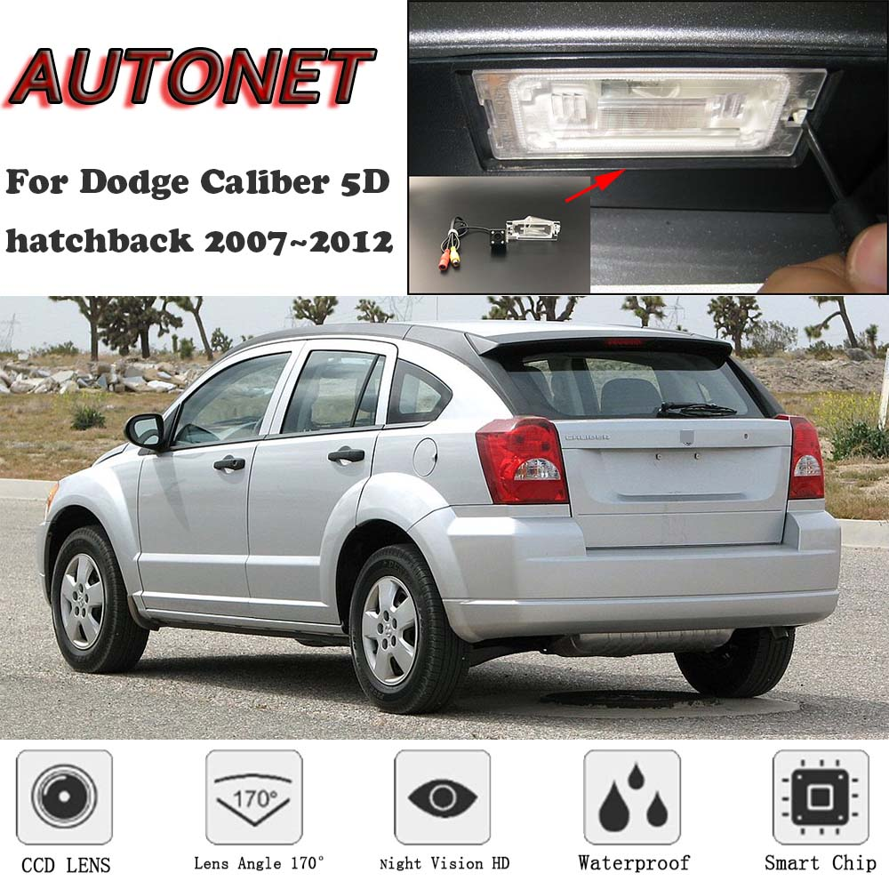 AUTONET Backup Rear View Camera For Dodge Caliber 5D Hatchback 2007 2008 2009 2010 2011 2012  CCD/Night Vision/parking Camera