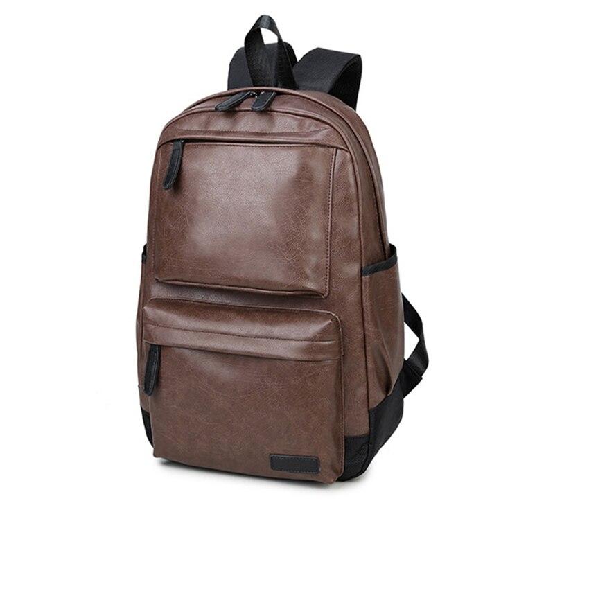 d880ea3b138f Рюкзаки 2019 Новая мода из искусственной кожи Краски поверхности мужской  рюкзак большой Ёмкость, Водонепроницаемый дорожная