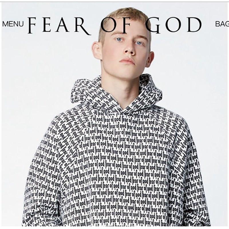 Brand Clothing Fear Of God Men Hoodie Pacsun Collection Justin Bieber Women Men s  Sweatshirts O-Neck Solid FOG Hoodies 091c99f4ebd7
