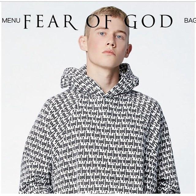 9e2f98e6644d8d Brand Clothing Fear Of God Men Hoodie Pacsun Collection Justin Bieber Women  Men s Sweatshirts O-Neck Solid FOG Hoodies