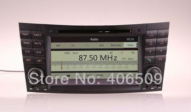 Auto Radio Car DVD Player for Mercedes Benz E W211 E200 E220 E240 E270 E280 / CLK W209 with GPS Navigation Bluetooth TV USB MP3