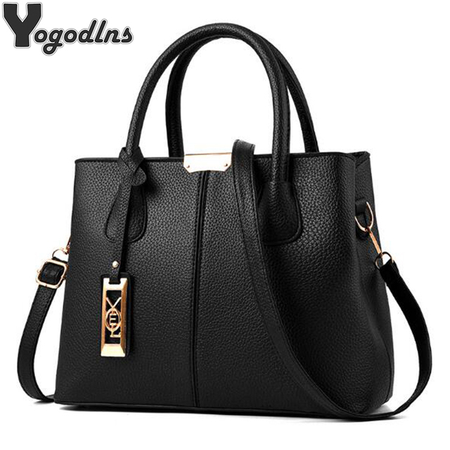 2572d6985b New Arrival PU Leather Handbags Casual Women Shoulder Bag Designers Ladies  Hand Bags Simple Style Crossbody