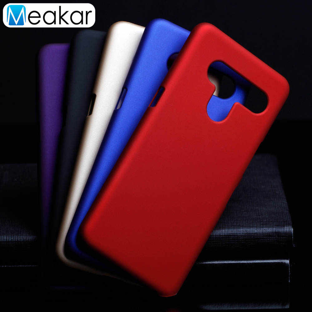Matte Plastik Coque Cover 6.4For LG V50 untuk LG V50 Thinq 5G Telepon Kembali Coque Cover Case