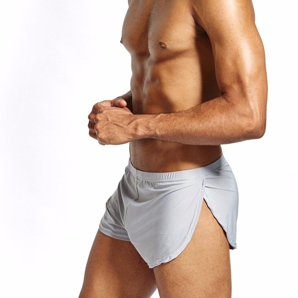 Jockmail Marke Klassische Grundlegende Solide Qualität Baumwolle Männer Unterwäsche Boxer Shorts Herren Badehose Sexy Höschen Homosexuell Nachtwäsche Unterhosen Boxer