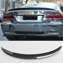 Задний спойлер из углеродного волокна для BMW 3 серии E92 328i 335i M3/M, спортивный спойлер 2006-2012 FRP P, стильный спойлер