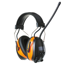 Rechargeable Lithium Battery Bluetooth AM/FM Radio Earmuff 25dB Electronic Noise Reduction Hearing Protection wireless Headphone