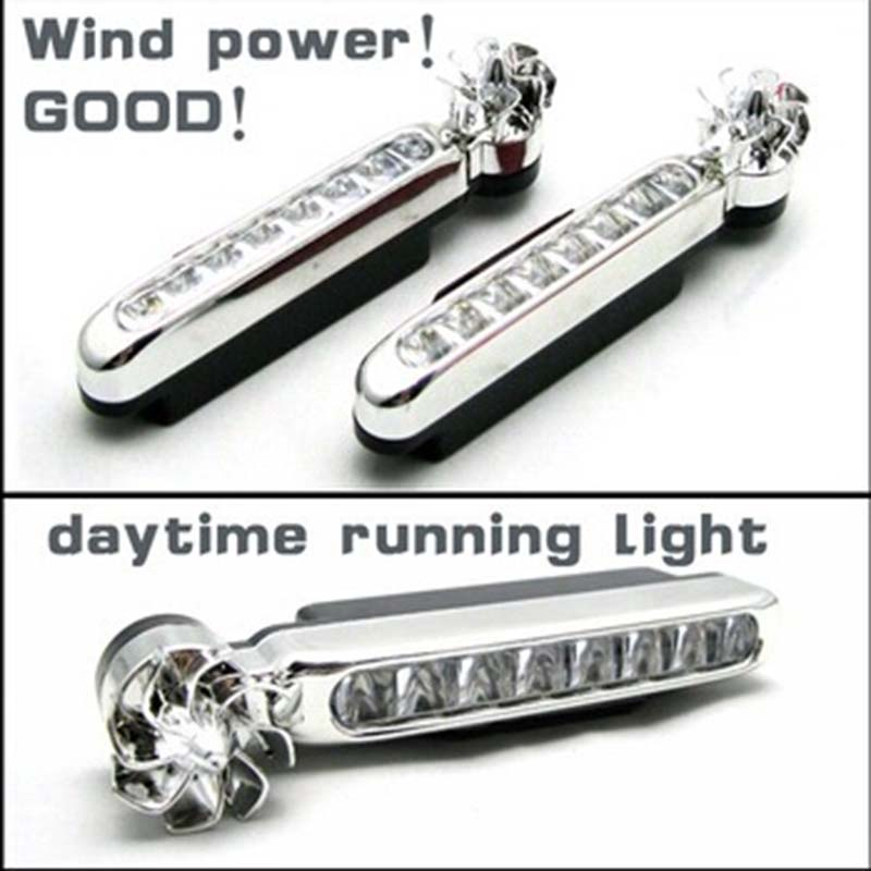 DNHFC Power daytime running light DRL No need to connect power For Kia Rio K2 For SPORTAGE R For skoda Octavia ...