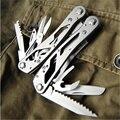 Ganzo Инструменты в Одном Multi Tool Плоскогубцы Удобный Отвертка Kit Швейцария Нержавеющей Стали многофункциональный Складной Нож