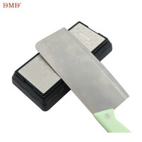 DMD double-sided diamond sharpening stone 2 side 400/1000 400/1200 600/1200 honeycomb type kitchen knife oil stone h3