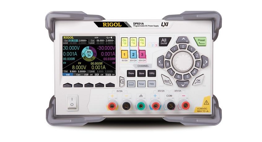 Rigol DP831A Triple Output 160 Watt Power Supply DC Power Supply 3 Channels