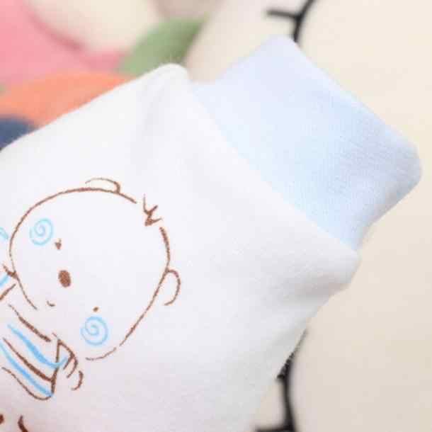 1 คู่น่ารักการ์ตูนเด็กทารกเด็กหญิง Anti Scratch Mittens ข้อเท้าเด็กวัยหัดเดินน่ารักสัตว์ทารกแรกเกิดถุงมือ