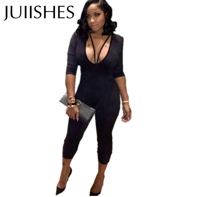 Aliexpress.com : Buy Sexy Bandage Playsuits 2016 Plus Size ...