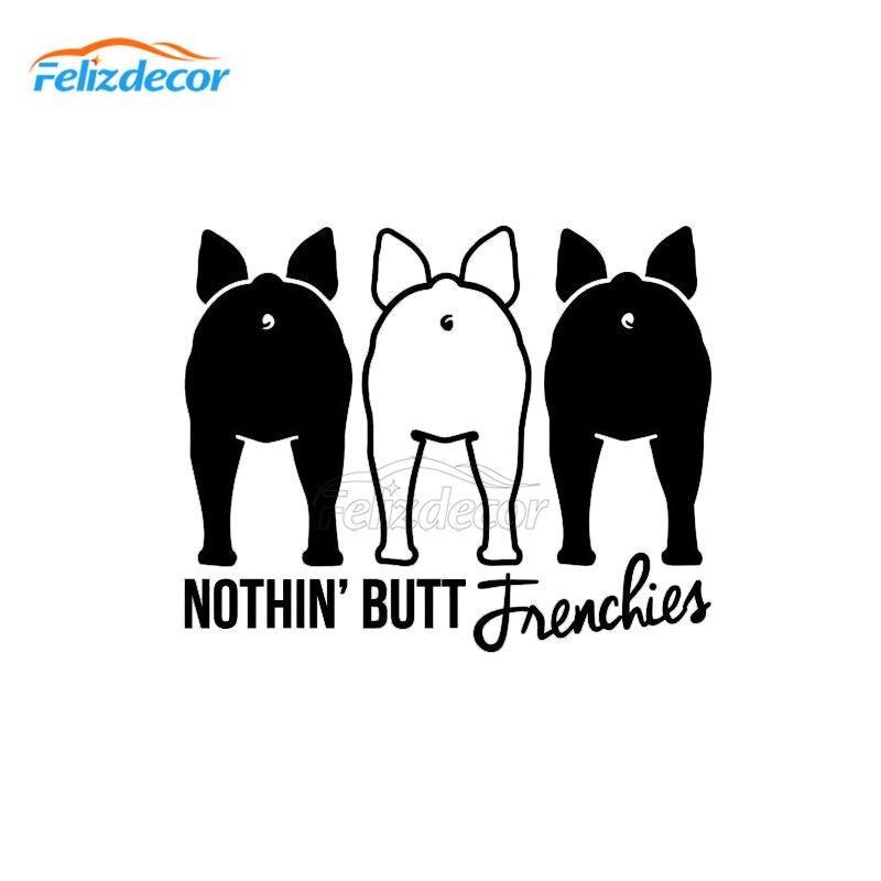 15cm Wide French Bulldog Stickers Bulldog Car Decal Frenchie Mom Dog Decals Auto Sticker Waterproof Vinyl L647 Aliexpress