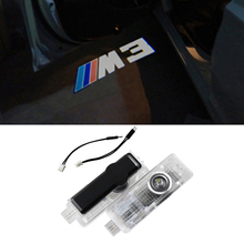 Car LED Projector Door Lamp Ghost Shadow Welcome Light Laser Logo Kit for BMW Special Series 3 5 6 7 Z GT E60 E63 E90 E92 E93