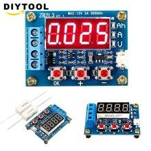1,2 в 12 В ZB2L3 18650 литий-ионный тестер емкости батареи+ Сопротивление свинцово-кислотный измеритель емкости аккумулятора тестер разряда