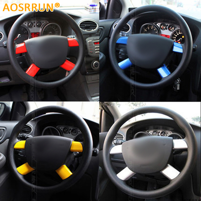 AOSRRUN High quality Stainless steel Steering wheel cover