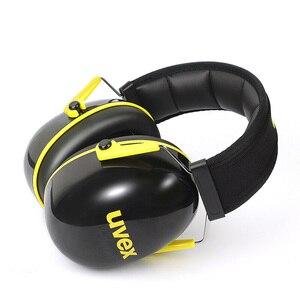 Image 4 - UVEX K2 عازلة للصوت غطاء للأذنين الحد من الضوضاء 32dB SNR قابل للتعديل عقال العمل الصناعي النوم السفر عازلة للصوت