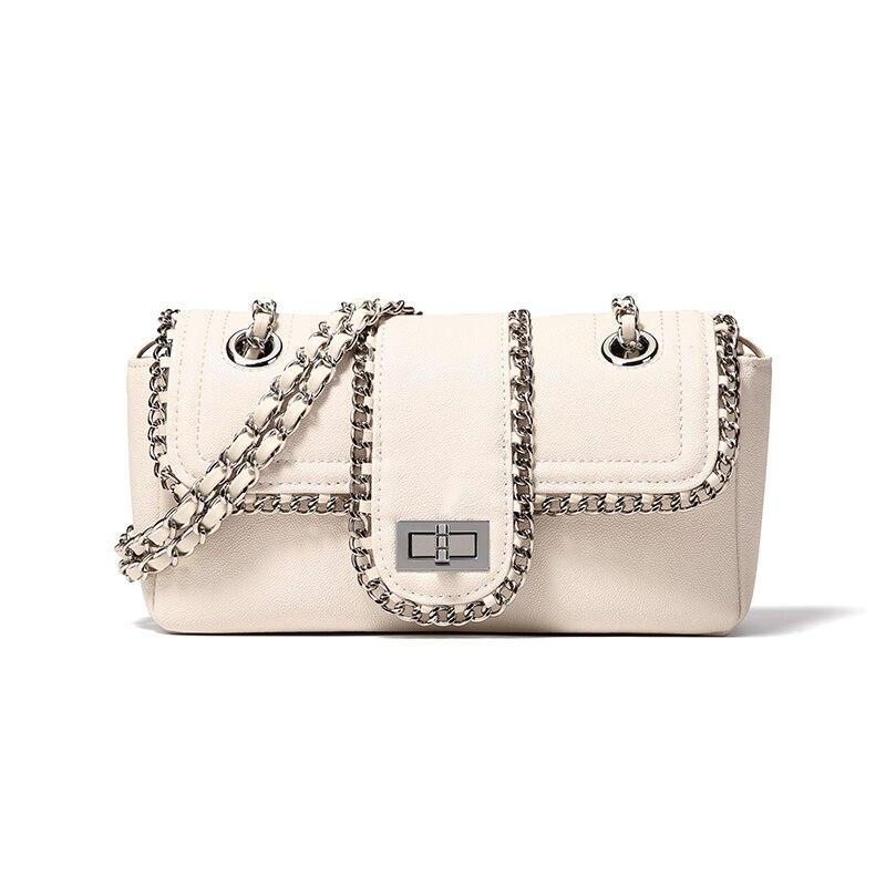 CHARMIYI bolsos de hombro de cadena de mujer famosa marca de lujo bolso de las señoras bolso de diseñador bandolera para mujeres 2019 bolso de mano-in Bolsos de hombro from Maletas y bolsas    2