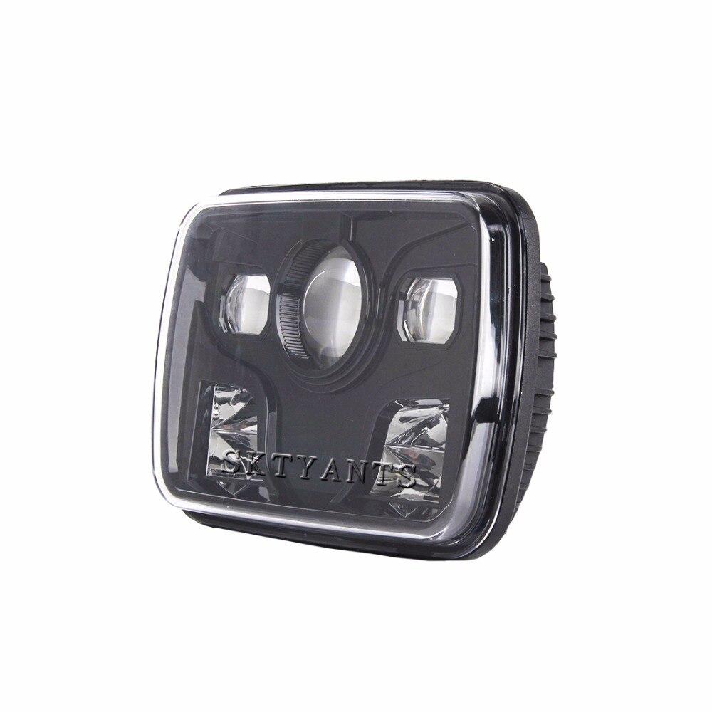 5X7 светодио дный светодиодные фары Daymaker trucklight высокий низкий пучок фары светодио дный море светодиодные замена точка для подходит H6014, H6052,