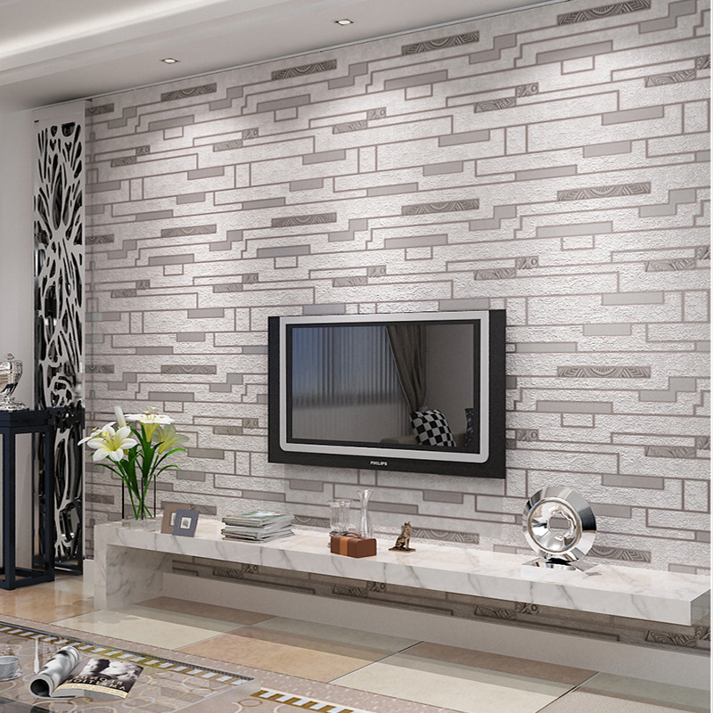 Looks like brick 3d vinyl wallpapers brick pedras wall for 3d washable wallpaper