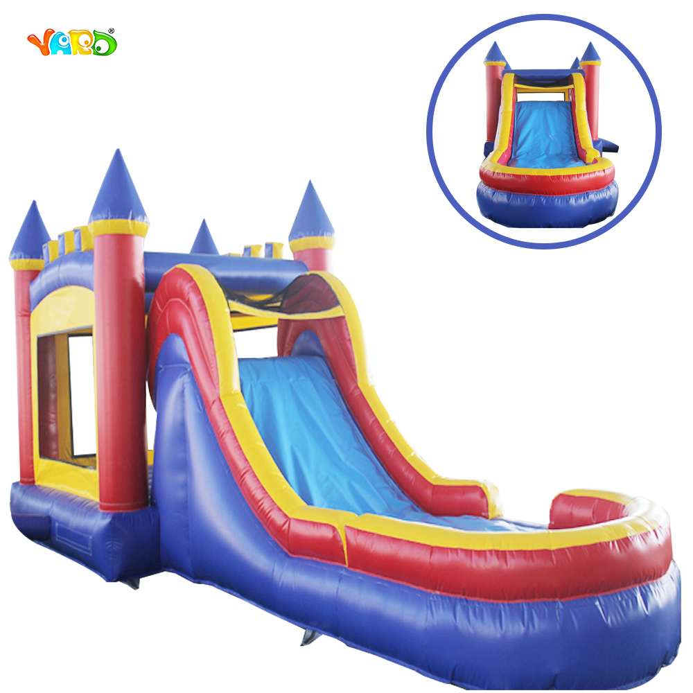 PVC Inflatable Commercial Jumping Bouncy Castles Moonwalk with Slide inflatable water slide bouncer inflatable moonwalk inflatable slide water slide moonwalk moon bounce inflatable water park