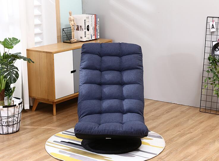 360 Degree Swivel Folded Video Game Chair Floor Lazy Man Sofa Chair For Living Room Bedroom Furniture Ergonomic Leisure Chair|Living Room Chairs| - AliExpress