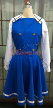 Anime Gochuumon wa Usagi Desuka? cos uniformes escolares cosplay Diario Chino Kafuu de Halloween uniforme completo set top + skirt + hat