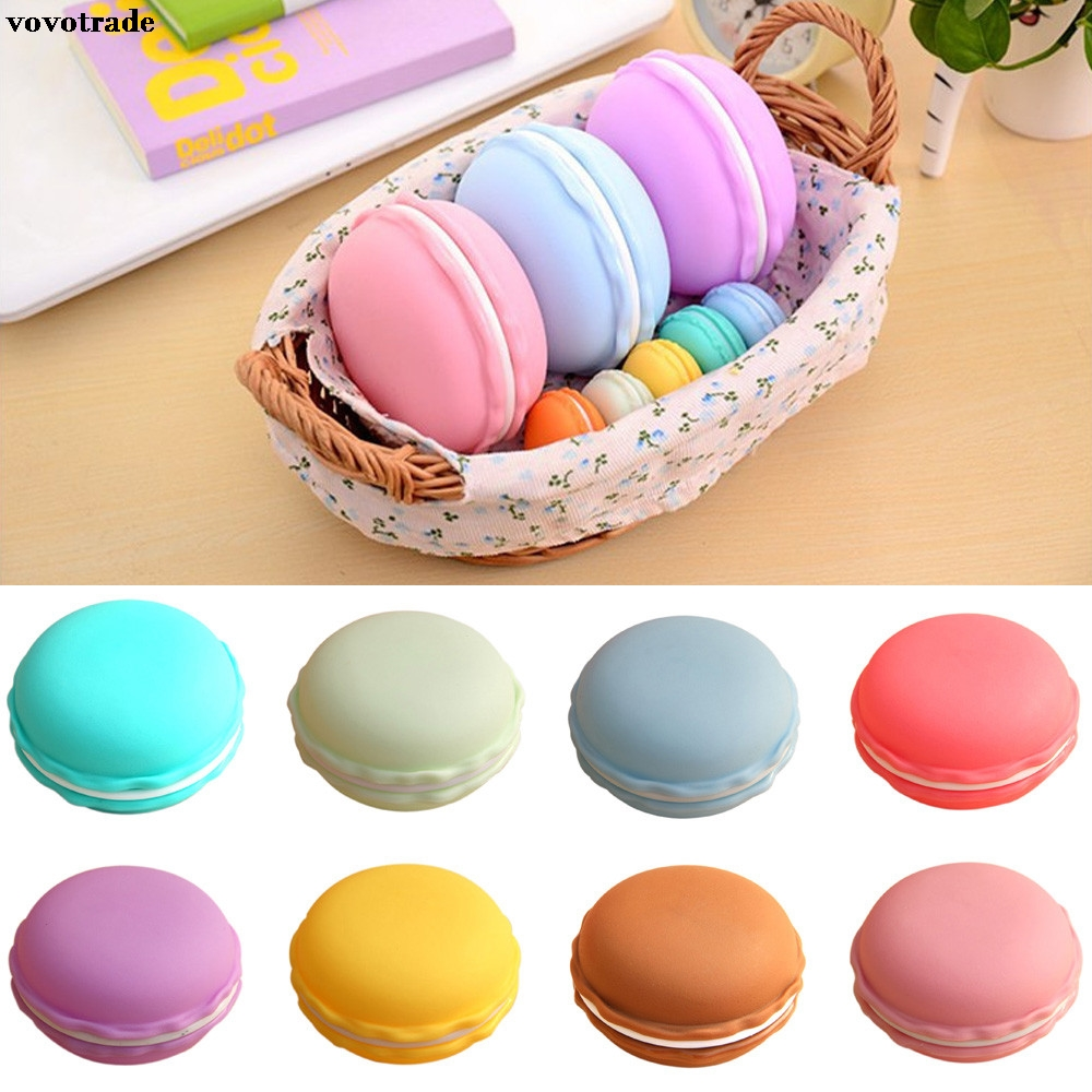 FGHGF Earphone SD Card Macarons Bag Big Storage Box Case Carrying Pouch vivid style for earrings rings beads earphone pills
