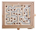 Primary Labyrinth Solitaire Game Wooden Toy Maze Board Kids Children Intelligence Game