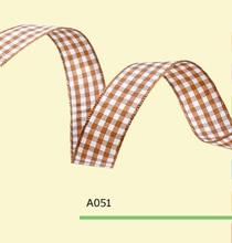 1″ Inch 25mm tartan ribbons