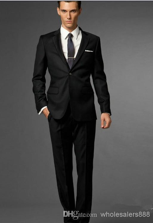 Black Suit Styles 2015 | My Dress Tip