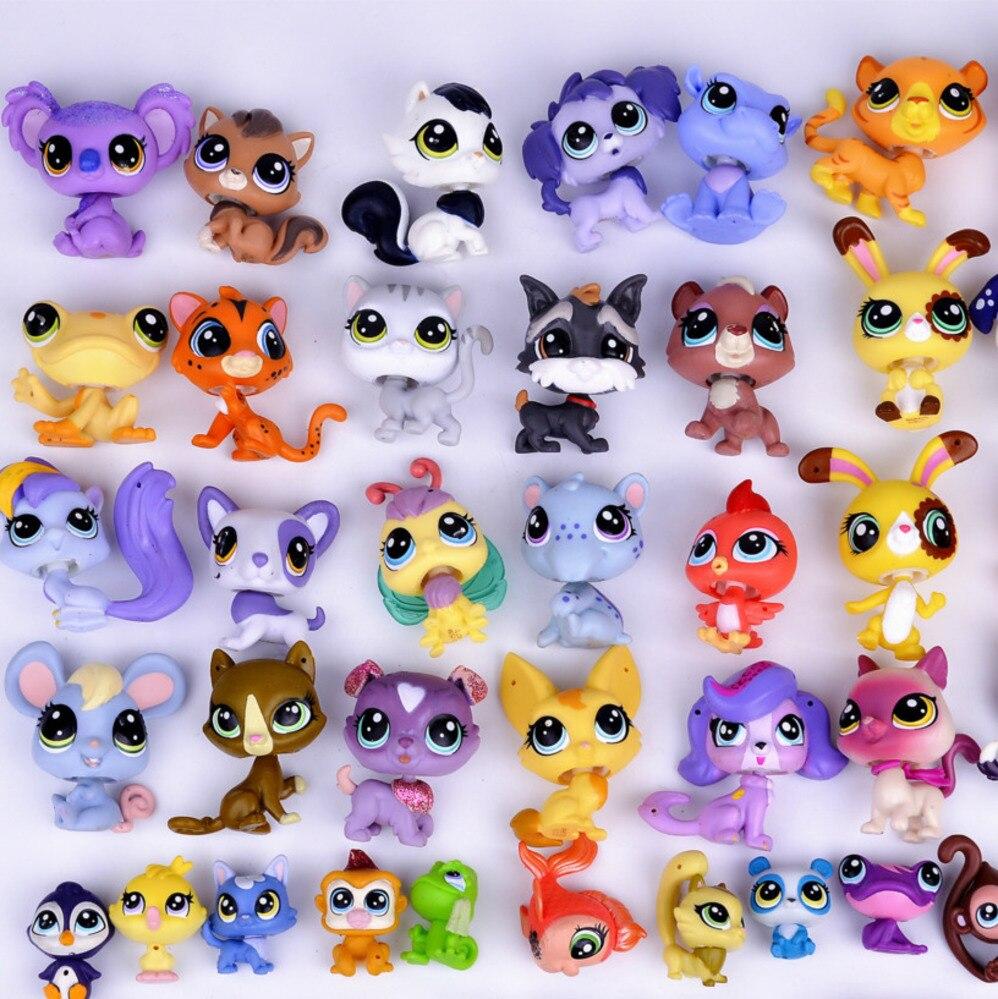 Doll-Model Dog-Toys Mini Toy Pet-Shop Animal Little Lps Patrulla for Children Toy-Bag