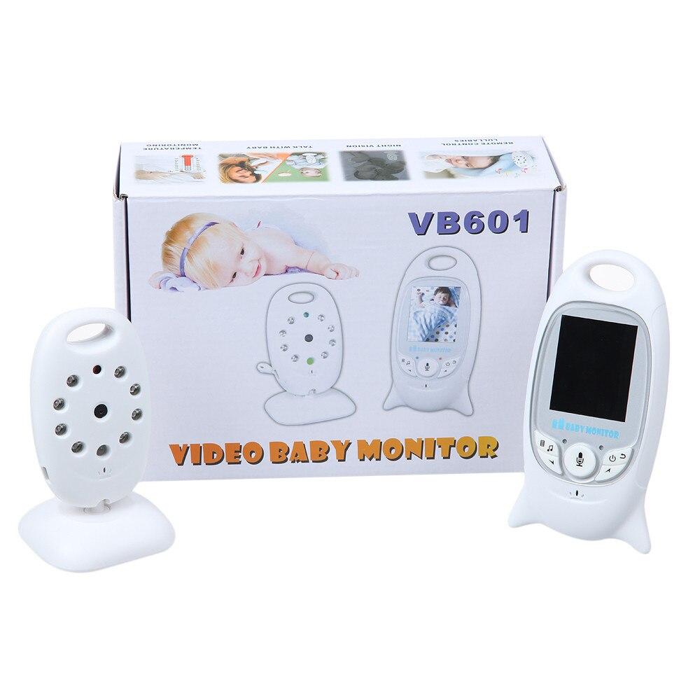 ФОТО Hot bateria eletronica video babysitting 2.0 inch Intercom Temperature monitor 8 Lullabies IR Night vision VOX radio babysitter