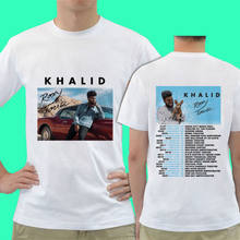 f5f6673c27100 New 21499-Khalid The Roxy Live in Concert Tour Dates 2018 T Shirt  Environmental printed