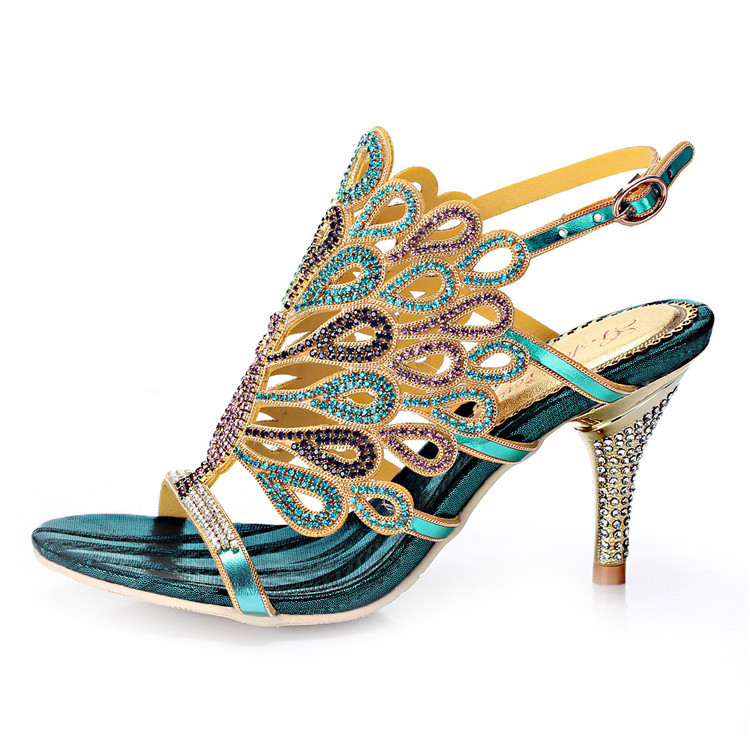 Online Buy Wholesale Peacock Sandals From China Peacock