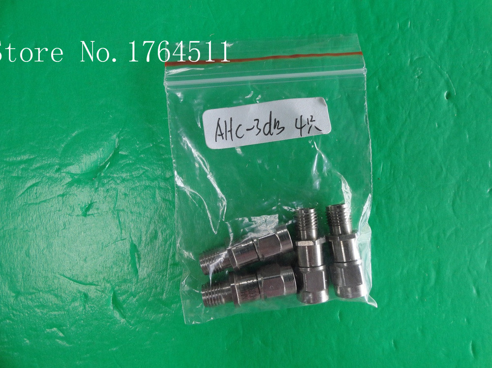 [BELLA] INMET AHC-3dB DC-3GHz 3dB 2W SMA Coaxial Fixed Attenuator  --5PCS/LOT