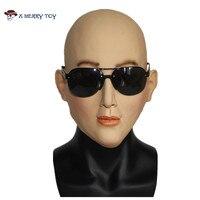 X MERRY Cosplay Top Quality Latex Halloween Mask Female Latex Mask Masquerade Masks Sexy Girl Crossdress