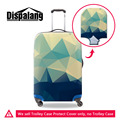 3D Diamond Surface Print Luggage Protective Cover For 18-30Inch Travel Suitcase Elastic Luggage Protect Dust Cover With Zipper