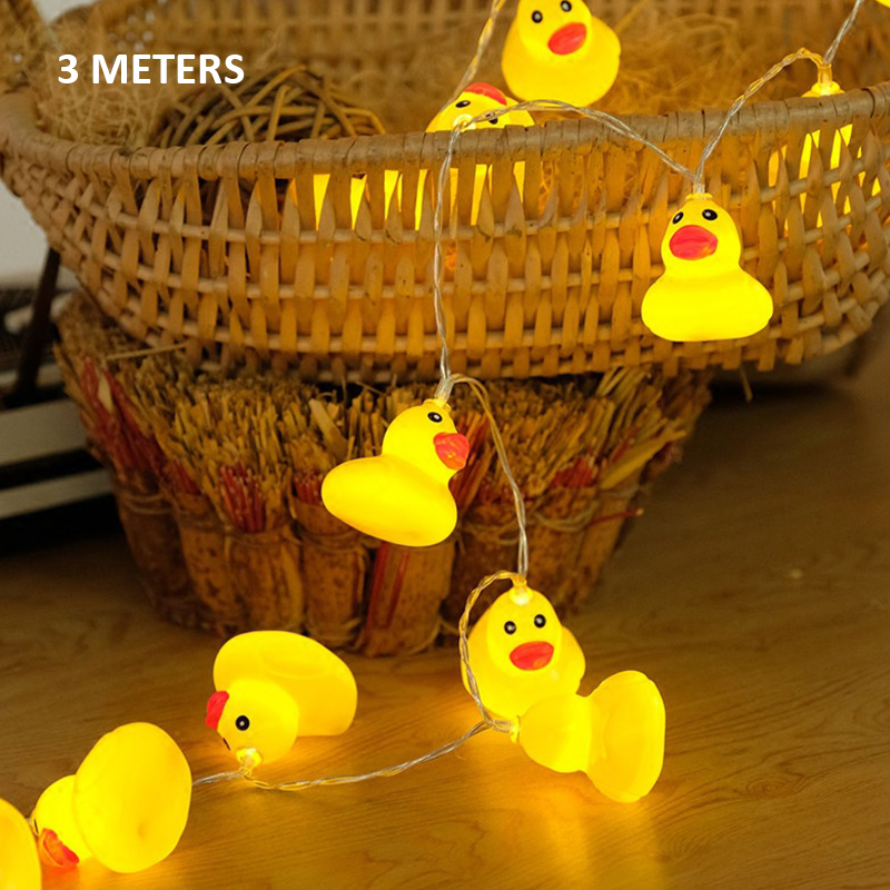 Xmas Lights And Erina Party Shop: Aliexpress.com : Buy Yellow Duck Fairy Lamp Glow Party